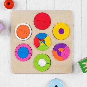 Логика-игрушка Сортер (дерево) в ассортименте