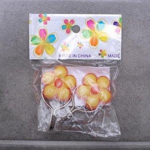 Набор крючков на липучке «Малютки», 2 шт, цвет МИКС
