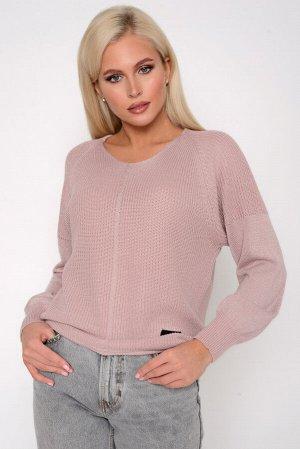 Пуловер Ткань: Акриловая нить с люрексом Пуловер с люрексом- актуальная модель осень 2020.Идеальный женственный вариант на каждый день!  (Один размер: 44-50)