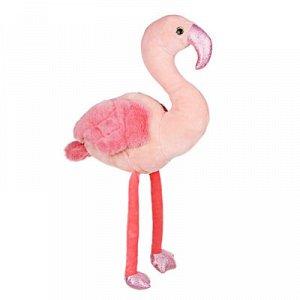 ООЧЕНЬ КЛАССНЫЙ! Игрушка мягкая в виде фламинго, 45-48см, полиэстер
