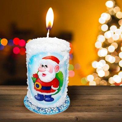 🎄Волшебство! Елочки! *★* Новый год Спешит! ❤ 🎅 — Свечи с ароматом! Создай атмосферу праздника! 10шт=49 руб. — Все для Нового года