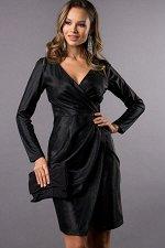 Платье Жаклин  цвет черный (П-170-7)