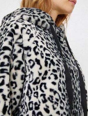 Свитшот леопардовый