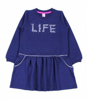 Платье д/д CWK 62023 (188) темно-синий