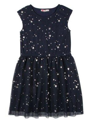 Платье д/д CAK 62216 т.синий