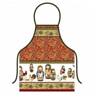 "Фартук ""Матрешки"", 52х72см"