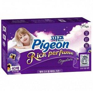 """883163 """"Pigeon"""" """"Пиджеон Арома"""" Концентрированный кондиционер для белья Mystic Rain (для сушильных машин) 40 листов"""