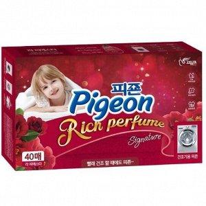 """884184 """"Pigeon"""" """"Пиджеон Арома"""" Конц. кондиционер д/белья Flower Festival (д/сушильных машин) 40 листов"""