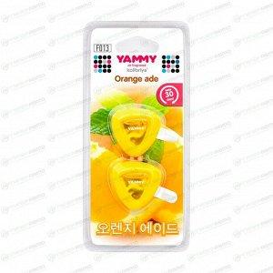"Ароматизатор на дефлектор Yammy ""Orange Ade"" жидкий"