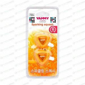 "Ароматизатор на дефлектор Yammy ""Sparkling Squash""  жидкий"