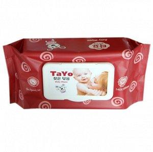 Влажные салфетки TAYO 80 шт