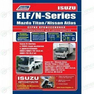 Руководство по эксплуатации, техническому обслуживанию и ремонту грузовиков  ISUZU ELF, ISUZU N-SERIES (в т.ч. MAZDA TITAN и NISSAN ATLAS на базе ISUZU) с 2000 г.