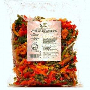 Смесь 3-х перцев быстрозамороженная Vegepak СОРТ А 1,0 кг