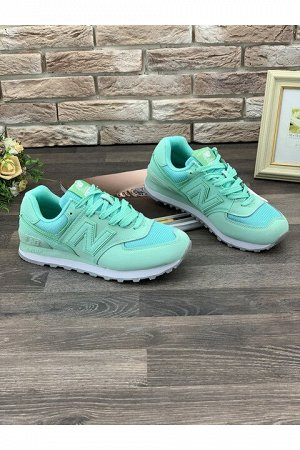 Женские кроссовки S015-4 зеленые