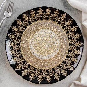 Тарелка «Золото хюррем», d=28 см