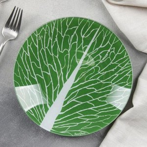 Тарелка десертная «Лист 3», d=20 см
