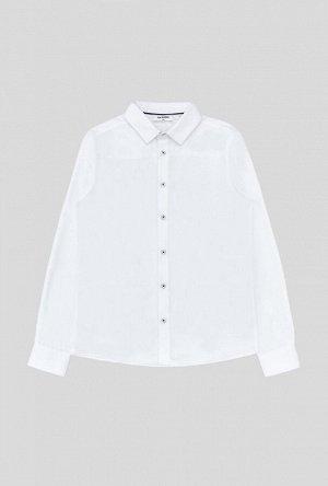 Сорочка верхняя детская для мальчиков Stas белый