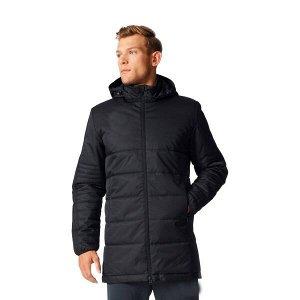 Куртка-парка мужская черная