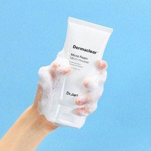 DR. JART+Dermaclear Micro Foam Mousse.Мягкая гиппоаллергенная пенка для умывания.