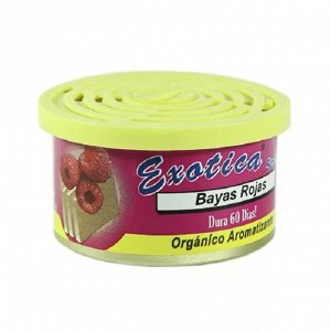Ароматизатор органический Scent Organic - Red berries Exotica ESC24-RED Red berries/малина