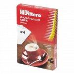 Filtero фильтры для кофе, №4/40, белые