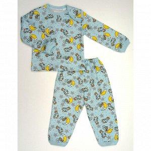 Пижама теплая 610/26 (мишка на луне)