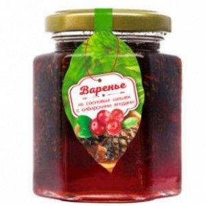 Варенье из сосновой шишки с сибирскими ягодами 240 г Сам бы ел