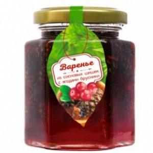 Варенье из сосновой шишки с ягодами брусники 240 г Сам бы ел