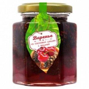 Варенье из сосновой шишки с ягодами вишни 240 г Сам бы ел