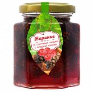 Варенье из сосновой шишки с ягодами клюквы 240 г Сам бы ел