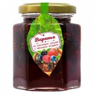 Варенье из сосновой шишки с лесными ягодами 240 г Сам бы ел