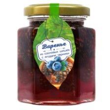 Варенье из сосновой шишки с ягодами черники 240 г Сам бы ел