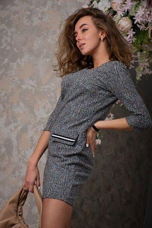 Платье Твид