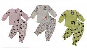 Пижама для девочки длинный рукав