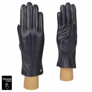 Перчатки, натуральная кожа, Fabretti S1.41-12 blue