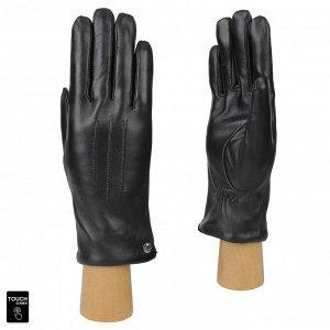Перчатки, натуральная кожа, Fabretti S1.41-1 black