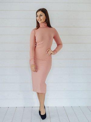 Платье Лапша SB пудра