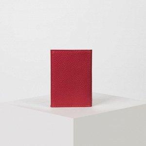 Визитница вертикальная, 1 ряд, 18 кардхолдеров, цвет красный