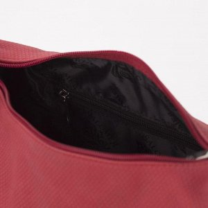 Сумка жен 1066, 27*12*21, отд на молнии, 2 н/карман, регул ремень, красный