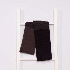 Трикотажный шарф - темно-серый