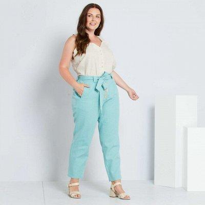 Французская одежда для всей семьи. Зимняя РАСПРОДАЖА ДО -70% — Большие размеры для женщин. Брюки — Большие размеры