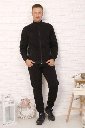 Костюм Бренд: Натали. Ткань: футер 3-х нитка с начесом  Состав: 35% П/Э, 65% хлопок; 50% П/Э, 50% хлопок  Стильный комфортный костюм на холодное время, прекрасно впишется в любой гардероб. Модель без
