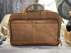 Деловая мужская сумка (кожаная)