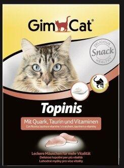 GIMCAT Витамины для кошек Мышки с творогом и таурином 220 г