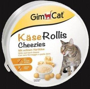GIMCAT Витамины для кошек Сырные ролики 200 г