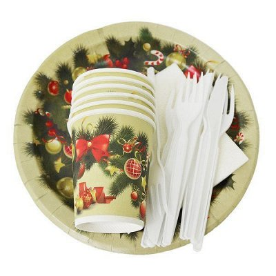 Пикник, баня, защита от насекомых - АКЦИЯ! — Одноразовая посуда — Наборы посуды