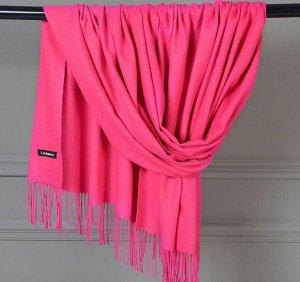 Женский палантин, цвет розовый