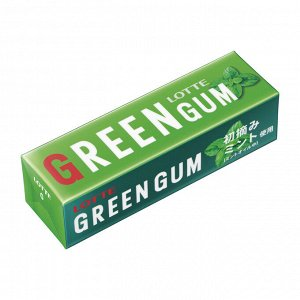 LOTTE жев.резинка  (GREEN GUM),31 г.