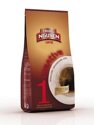 Кофе натуральный жареный молотый 250 гр. Creative № 1 Т.М. Чунг Нгуен