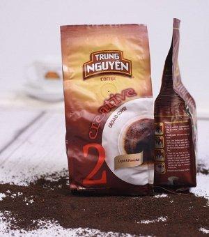 Кофе натуральный жареный молотый 250 гр. Creative № 2 Т.М. Чунг Нгуен